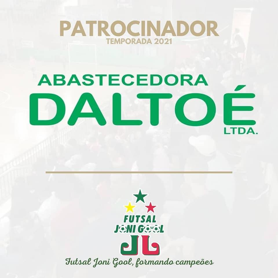 Abastecedora Daltoérenova parceria com o Futsal JONI GOOL