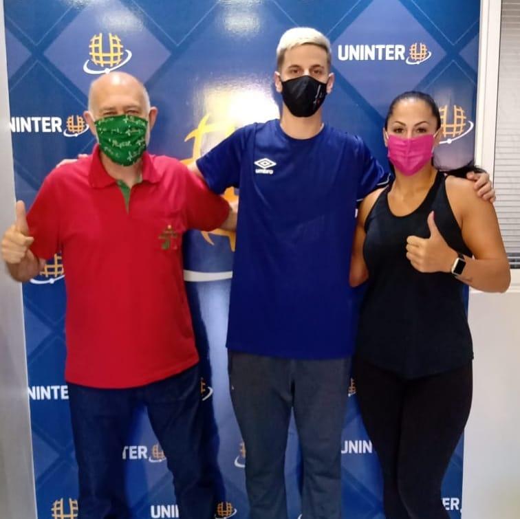 Cássio Perondi defenderá o Futsal JONI GOOL e será acadêmico doPolo Uninter São Miguel do Oeste, em