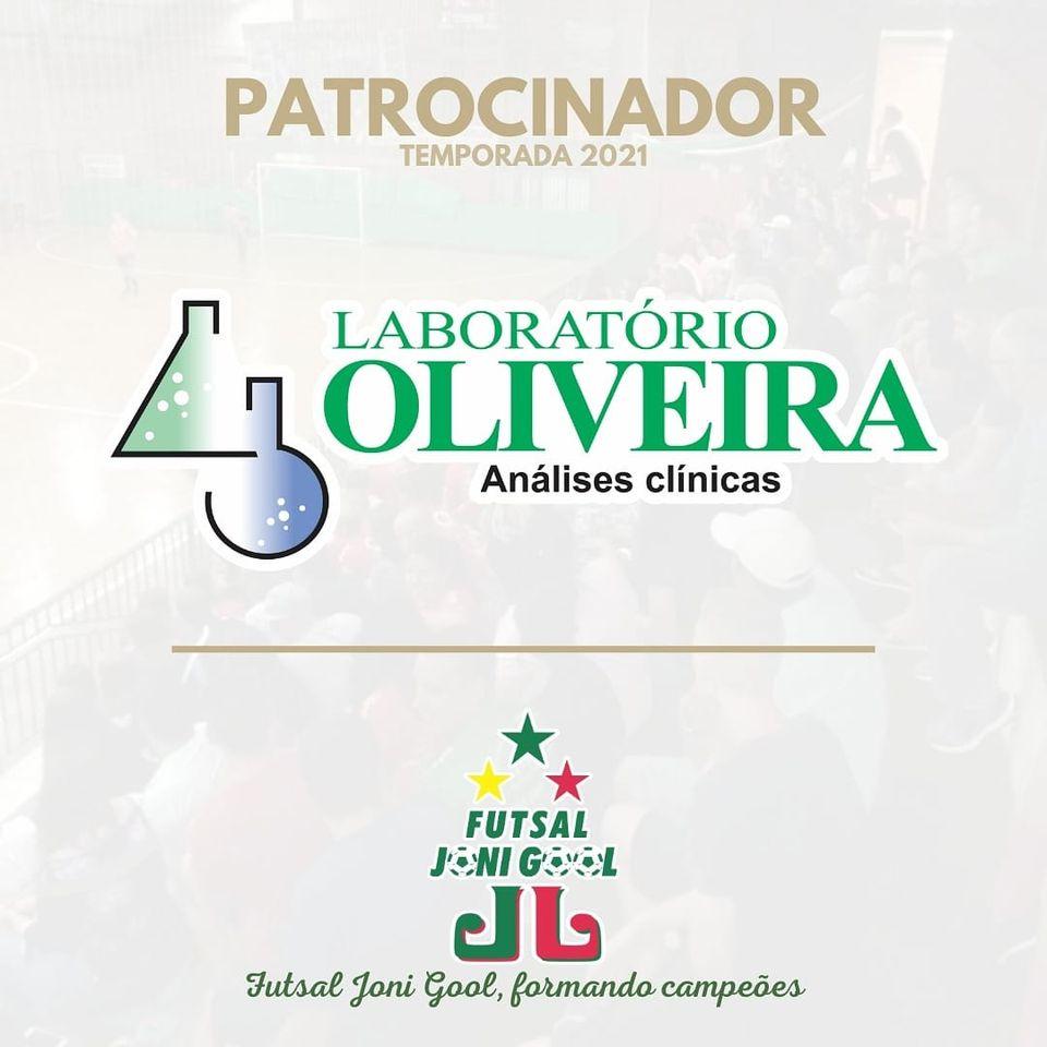 Laboratório Oliveira renova parceira com o Futsal JONI GOOL para 2021