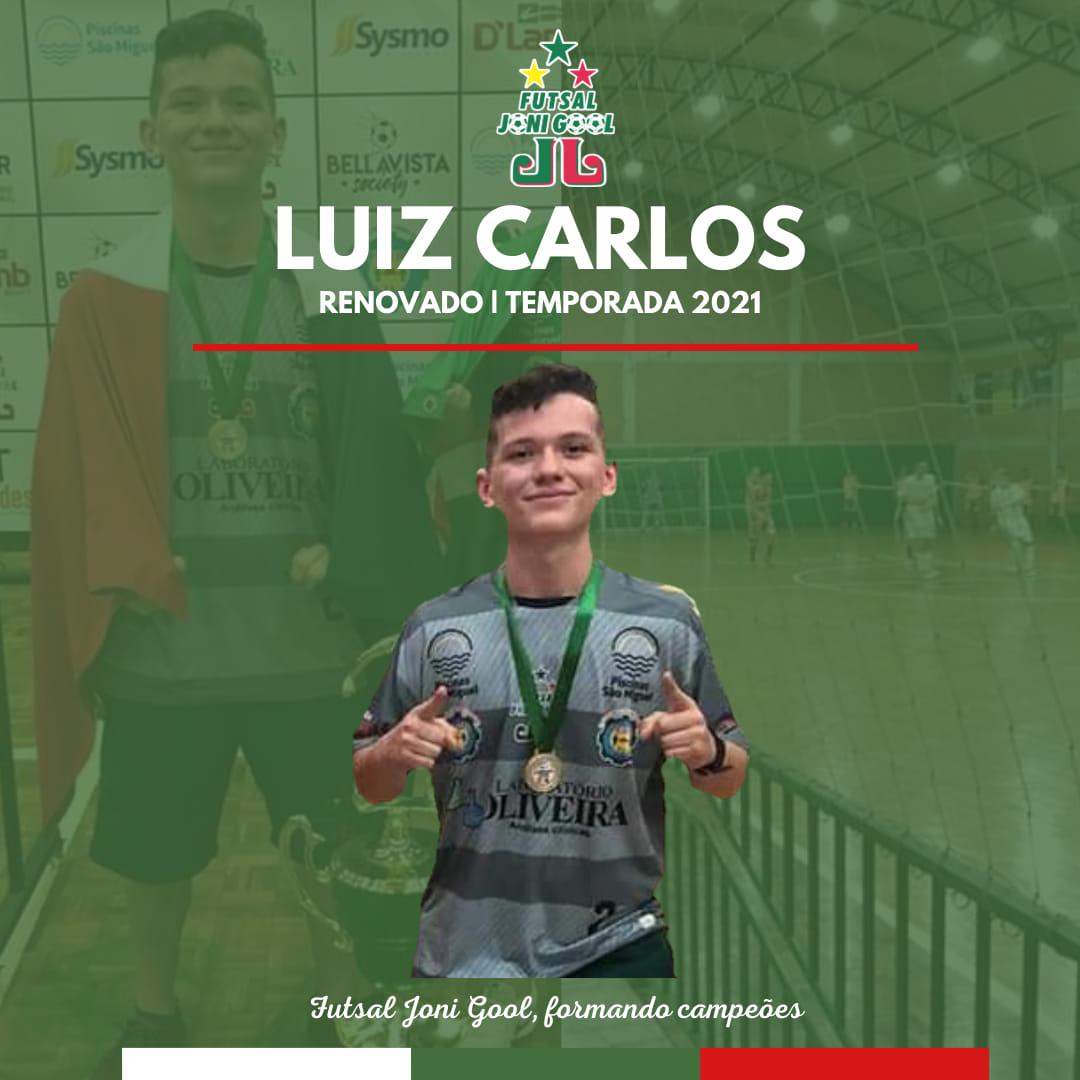 Luiz Carlos renova com o Futsal JONI GOOL para 2021