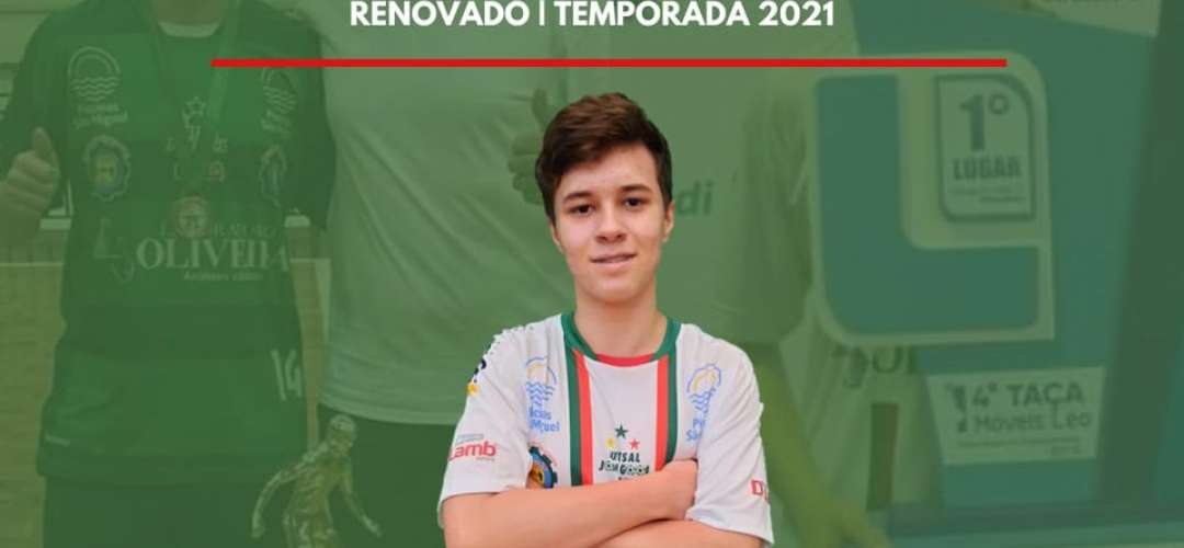 Felipe Ribeiro Simioni permanecerá no Futsal JONI GOOL na temporada 2021