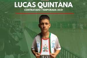 Futsal JONI GOOL acerta a contratação de Lucas Quintana para a temporada 2021