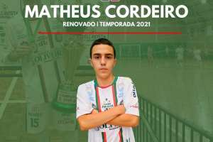 Matheus Cordeiro seguirá defendendo as cores do Futsal JONI GOOL em 2021
